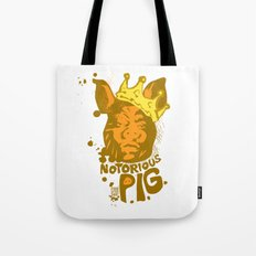 Notorious PIG Tote Bag
