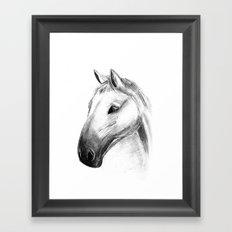 Horse Tales Framed Art Print