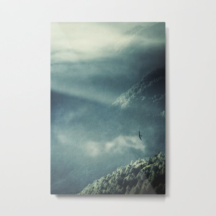 Misty Valley - Lombardia - Italy Metal Print