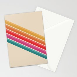 Retro - Downhill #743 Stationery Cards