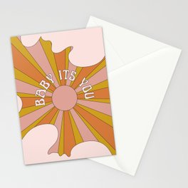 Baby its you Stationery Cards