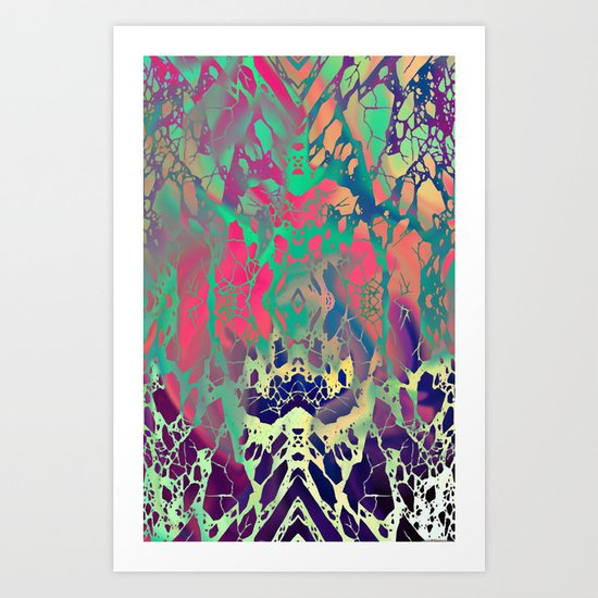 ACID VOLCANO  Art Print