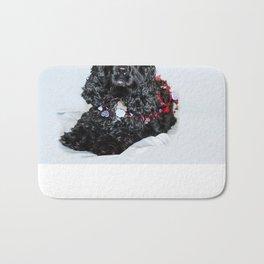 Valentine Puppy Photography Print Bath Mat