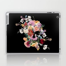 Skull and Flowers Laptop & iPad Skin
