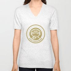 Chibi Kimi Raikkonen - Lotus F1 Team Unisex V-Neck