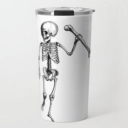 Skeleton of Social Justice Travel Mug