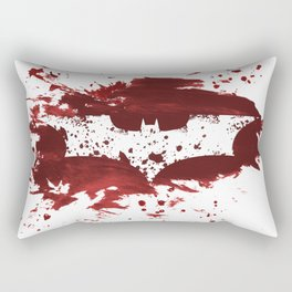 Bloody Bat man Rectangular Pillow