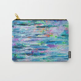 Silver Rain Carry-All Pouch