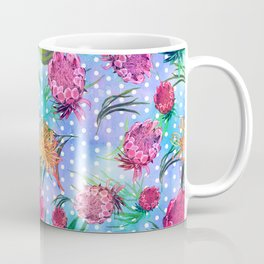 Soft Australian Native Floral Print Coffee Mug
