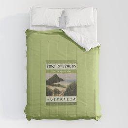 Travel Poster Zenith Beach Art Print Comforters
