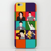 hedwig iPhone & iPod Skins featuring From Harry To Hedwig by byebyesally