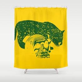 Tiger Skull Part 1 Shower Curtain