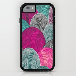 Colour Me Lovely iPhone Case