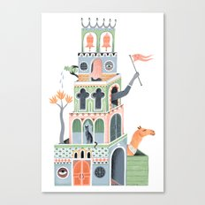 The Fantastic Tower Canvas Print