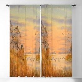 Duck Hunters Calling Blackout Curtain