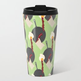 Breakfast Pattern #4 Travel Mug