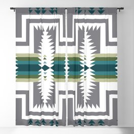 American Native Pattern No. 454 Blackout Curtain