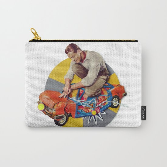 Mr Fixit   Collage Carry-All Pouch