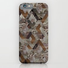 Wood Quilt Slim Case iPhone 6s