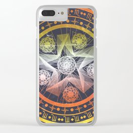 What's Your Sign Clear iPhone Case