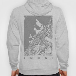 Dubai Map Line Hoody