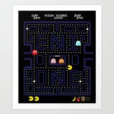 E-MAN Art Print
