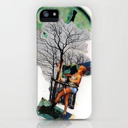 Rape of Aurora   Collage iPhone Case