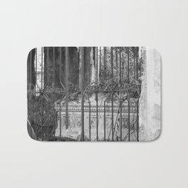 old gate & grave Bath Mat
