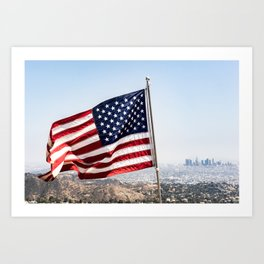 Memorial Day L.A. Art Print