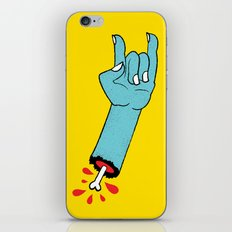 Throwin' Up the Horns iPhone & iPod Skin