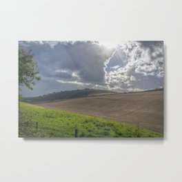 Farmlands. Metal Print