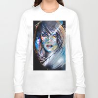 mirror Long Sleeve T-shirts featuring mirror by Alexandra Vassile