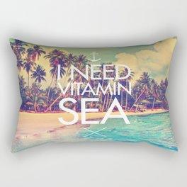 I Need Vitamin Sea Rectangular Pillow