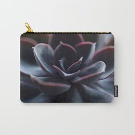 Succulent Plant In Close-up #decor #society6 #homedecor Carry-All Pouch