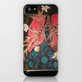 Breathing Life In iPhone Case