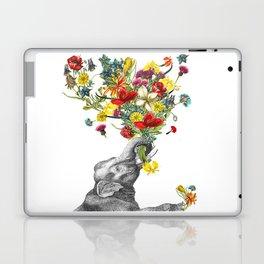 Happy Baby Elephant Laptop & iPad Skin