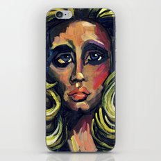 The Queen of Hearts  iPhone & iPod Skin