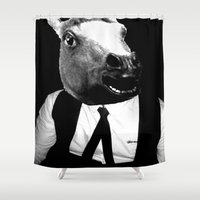 pony Shower Curtains featuring Icelandic Pony by michelle