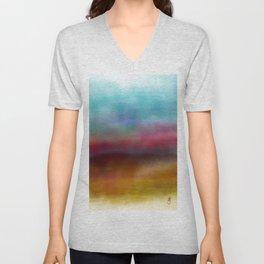 C for Colorful Unisex V-Neck