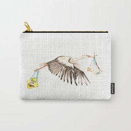 Baby on Bird Carry-All Pouch