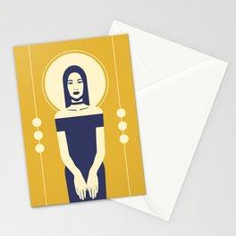 Phaedra Yellow Stationery Cards