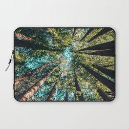 Treetop green blue Laptop Sleeve