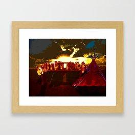Solstice 2014 Framed Art Print
