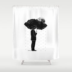 My life is a Storm Shower Curtain