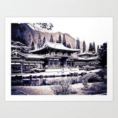 Pure Zen of Byodo Temple Art Print