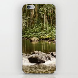 Waipio Valley River iPhone Skin