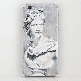 Apollo Bust Sculpture iPhone Skin