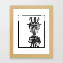 I Want You Framed Art Print