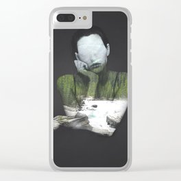 Inner Nature Clear iPhone Case