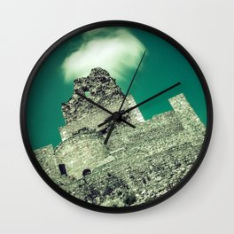 Crowned castle Wall Clock
